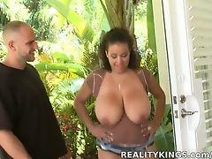 BBW, Big Ass, Big Tits, Blowjob, Bold, Brunette, Facial, Handjob, HD, Latina,