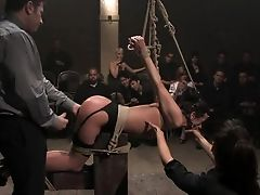 Abuse, All Holes, Anal Sex, Anal Toying, BDSM, Bondage, Brunette, Brutal, Cecilia Vega, Clamp,