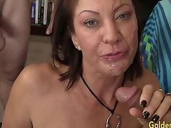 Mature, Old And Young, Riding, Slut, Vanessa Videl,