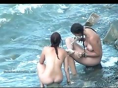 Beach, Compilation, Nude, Voyeur,