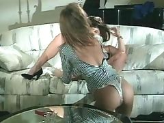 Doggystyle, FFM, Long Hair, Pornstar, Racquel Darrian, Retro, Threesome,