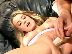Big Cock, Big Tits, Blonde, Cum In Mouth, Cute, Naughty, Sex Toys, Teen,