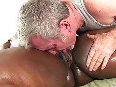 BBW, Beauty, Black, Daphne Daniels, Fat, Massage, Oiled,