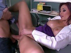 Big Tits, Blowjob, Cumshot, Doctor, Facial, Fake Tits, Hardcore, HD, Horny, Hospital,