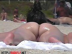 Na Praia , Exibicionista , Mostrando, Nudista, Buceta Novinhas , Voyeur ,