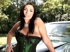 Big Tits, Brazilian, Masturbation, Michelle Bond, Michelle Monaghan, Outdoor, Pornstar, Solo, Striptease,