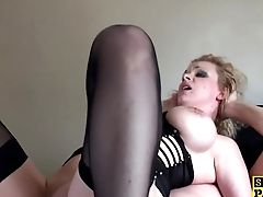 Anal Sex, Ass, BDSM, British, Cumshot, Lingerie, Stockings, Submissive,