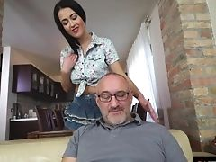 Babe, Big Cock, Big Tits, Blowjob, Brunette, Cowgirl, Deepthroat, Dick, Doggystyle, Fingering,