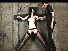 BDSM, Bondage, Brunette, Fetish, Kinky, Rough, Submissive, Tickling,