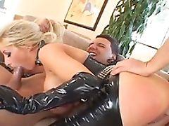 Big Tits, Blonde, Blowjob, Candy Manson, Cowgirl, Cum, Cumshot, Doggystyle, Facial, Fake Tits,