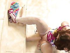 Beauty, Curvy, Cute, Dildo, Freckled, Horny, Melody Jordan, Redhead, Rough, Sex Toys,