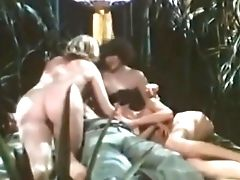 Big Tits, Blowjob, Classic, Cum In Mouth, Foursome, Group Sex, MILF, Retro, Vintage,