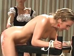 Ass, Babe, BDSM, Femdom, Fetish, Maid, Naughty, Oiled, Punishment, Spanking,